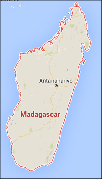Madagascar Map: South tour